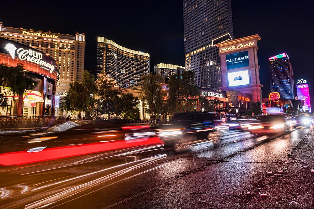 The Monte Carlo & Aria City Center Hotels, Las Vegas Boulevard