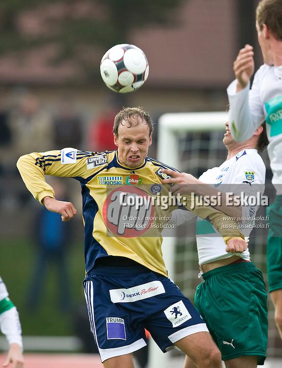 Tomasz Sajdak. IFK Mariehamn - HJK. Veikkausliiga. Maarianhamina 28.4.2008. Photo: Jussi Eskola