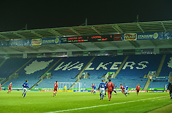 LEICESTER, ENGLAND - Tuesday, January 12, 2010: Liverpool thrash Leicester City 5-1 during the FA Youth Cup 4th Round match at the Walkers Stadium. (Photo by David Rawcliffe/Propaganda)