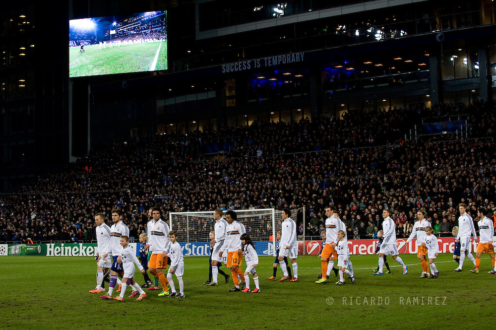 UEFA Champions League Group B, FC Copenhagen 0 vs. Real Madrid 2 at the Parken Stadium. Photo: © Ricardo Ramirez.