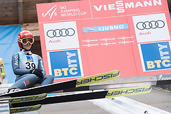 February 8, 2019 - Katharina Althaus of Germany on first competition day of the FIS Ski Jumping World Cup Ladies Ljubno on February 8, 2019 in Ljubno, Slovenia. (Credit Image: © Rok Rakun/Pacific Press via ZUMA Wire)
