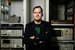 Portrait of doc. dr. Marko Jankovec, III. Katedra za elektroniko, Laboratorij za fotovoltaiko in optoelektroniko, on December 19, 2019 in Fakulteta za elektrotehniko, Univerza v Ljubljani, Slovenia. Photo by Vid Ponikvar/ Sportida