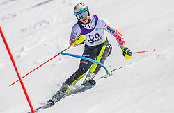 50# Nikic Leon from Croatia during the slalom of National Championship of Slovenia 2019, on March 24, 2019, on Krvavec, Slovenia. Photo by Urban Meglic / Sportida