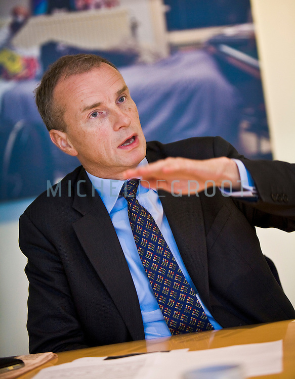 Marcel Smits, CFO at KPN in Den Haag, The Netherlands on 24 September, 2008.  (Photo by Michel de Groot)