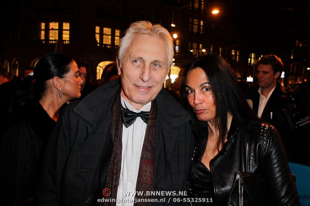 NLD/Amsterdam/20120313 - Inloop Boekenbal 2012, Marion Bloem en Iwan Wolffers