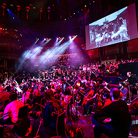 """Convo"" by Charlotte Harding;<br /> Tri-Borough Music Hub;<br /> Royal Albert Hall, London;<br /> 7th March 2019.<br /> <br /> © Pete Jones<br /> pete@pjproductions.co.uk"