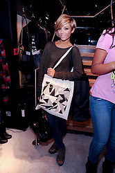 FRANKIE SANDFORD at a party to celebrate the Firetrap Watches and Kate Moross Collaboration Launch, held at Firetrap, 21 Earlham Street, London, UK on 13th October 2010.