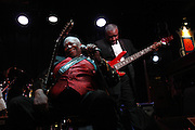 "Who Owns the Blues?- Blues legend B.B.King, 85, said  ""some people say, well, I was born in the blues; I guess we were."" He said  ""It was a type of music that I used to hear and people on the plantation would sing and play.""  He reflected that eventually many of the great groups came out playing the blues and ""white America learned about it. We'd been around the whole time, they didn't pay us any attention"""