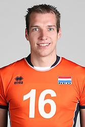 20160516 NED: Selectie Nederlands volleybal team mannen, Arnhem<br />Wouter ter Maat