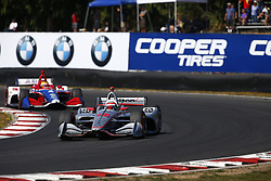 September 2, 2018 - Portland, Oregon, United Stated - WILL POWER (12) of Australia battles for position during the Portland International Raceway at Portland International Raceway in Portland, Oregon. (Credit Image: © Justin R. Noe Asp Inc/ASP via ZUMA Wire)
