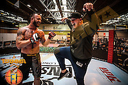BAMMA25 at Bodypower expo Friday