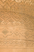 Detail of brickword of The Arg (Citadel) of Karim Khan, Shiraz, Iran