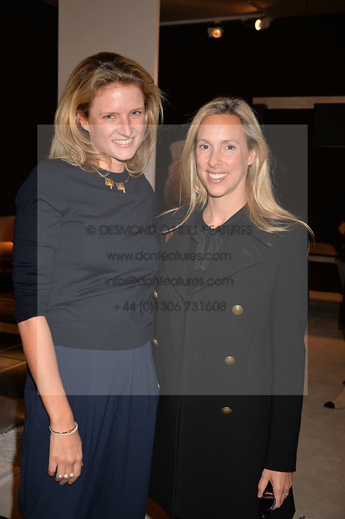 Fiona Scarry and Marina Martinos at the 2017 PAD Collector's Preview, Berkeley Square, London, England. 02 October 2017.