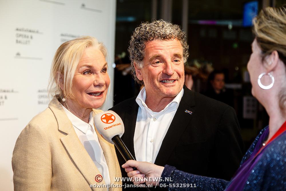 NLD//Amsterdam20160415 - Première 'Roméo et Juliette', Monique van der Ven en partner Edwin de Vries