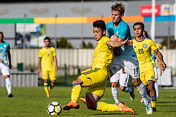 Matic Vrbanec of Slovenia during football match between Slovenia and Kazahstan in Qualifying round for European Under-21 Championship 2019, on September 11, 2018 in Mestni Stadium Ptuj, Slovenija, 2018. Photo Grega Valancic