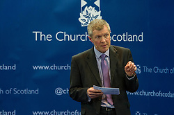 Pictured: Willie Rennie<br /> <br /> The People Politics Hustings,  organised by the Church of Scotland, allowed voters to question SNP deputy John Swinney, Scottish Labour leader Kezia Dugdale, Scottish Liberal Democrat leader Willie Rennie, Scottish Greens co-convener Patrick Harvie and former Scottish Conservatives leader Annabel Goldie ahead of the Scottish Elections. Before the politicians had a chance to speak they had a chance to listen to five speakers with different viewpoints on how Scotland has supported them in the past and how it should support them in the future..<br /> Ger Harley | EEm 4 April 2016