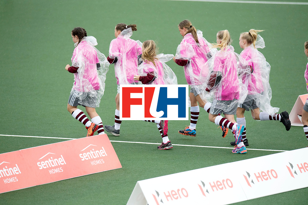 AUCKLAND - Sentinel Hockey World League final women<br /> Match id 10295<br /> 05 New Zealand  v Korea<br /> Foto: Ball boys.<br /> WORLDSPORTPICS COPYRIGHT FRANK UIJLENBROEK