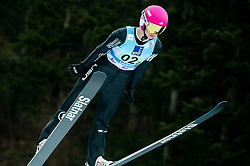 Tara Geraghty-Moats of USA competes during Team Competition at Day 2 of World Cup Ski Jumping Ladies Ljubno 2019, on February 9, 2019 in Ljubno ob Savinji, Slovenia. Photo by Matic Ritonja / Sportida