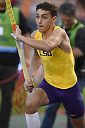 Armand Duplantis aka Mondo Duplantis (SWE) of LSU places seventh in the pole vault at 18-7 1/2 (5.68m) in the 43nd Memorial Van Damme in an IAAF Diamond League meet at King Baudouin Stadium in Brussels, Belgium on Friday,August 31, 2018. (Jiro Mochizuki/Image of Sport)