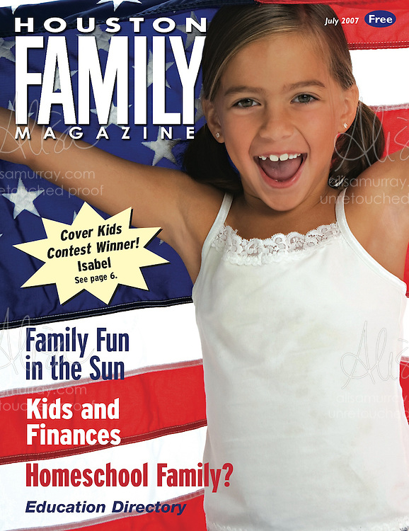 Houston Family July 2007 Cover