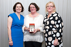 Pictured is, from left, Lincolnshire Co-operative chief executive Ursula Lidbetter, Tracey Pinkett, Lincolnshire Co-operative president Amy Morley<br /> <br /> Lincolnshire Co-operative long service awards 2015, held at The Showroom, Tritton Road, Lincoln.<br /> <br /> Date: September 23, 2015<br /> Picture: Chris Vaughan/Chris Vaughan Photography