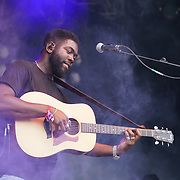 London, England, UK. 16th July 2017. Jake  Isaac performs at the Citadel Festival at Victoria Park, London, UK.