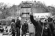 Ravers at Frome Quarry, 2014