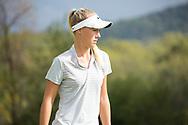 October 10, 2017 - Johnson City, Tennessee - Warren-Greene Golf Center: Tereza Melecka<br /> <br /> Image Credit: Dakota Hamilton/ETSU