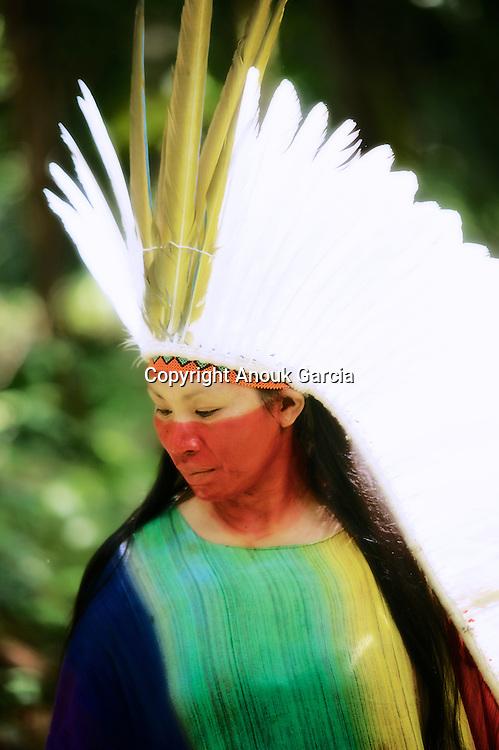 Putany Yawanawa, première femmes chaman au Brésil