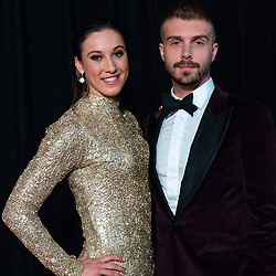 18-12-2019 NED: Sports gala NOC * NSF 2019, Amsterdam<br /> The traditional NOC NSF Sports Gala takes place in the AFAS in Amsterdam / Suzanne Schulting en Sebastiaan Middelkoop