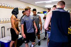 Wasps players relax after preseason training ahead of the 2019/20 Gallagher Premiership Rugby Season - Mandatory by-line: Robbie Stephenson/JMP - 07/08/2019 - RUGBY - Broadstreet RFC - Coventry, England - Wasps Preseason Training