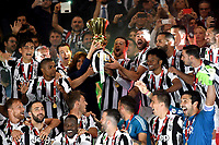 Juventus players during victory celebrations.<br /> Roma 09-05-2018  Stadio Olimpico  <br /> Football Calcio Finale Coppa Italia / Italy's Cup Final 2017/2018 Juventus - Milan<br /> Foto Antonietta Baldassarre / Insidefoto