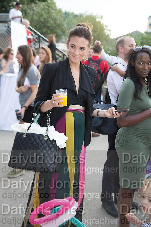 AMELIA SUGDEN,  CHARLES FINCH'S CHUCS SWIMATHON 2013, SERPENTINE, Hyde Park, London. 4 July 2013.