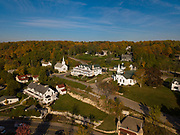 The town of Ephraim, located in Door County, is pictured from above. (Sam Lucero photo)