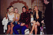 Sienna Miller, Hannah Sandling, Edward taylor, Emily Compton, Indian Palace Ball, St. James's Sq. London. 8 July 2002,