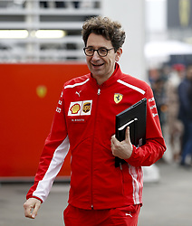 October 27, 2018 - Mexico-City, Mexico - Motorsports: FIA Formula One World Championship 2018, Grand Prix of Mexico, .Mattia Binotto (ITA, Scuderia Ferrari) (Credit Image: © Hoch Zwei via ZUMA Wire)