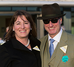 The former head of Barclays' investment banking arm, Rich Ricci and his wife Susannah at Ascot Race Course, Ascot, United Kingdom. Saturday, 23rd November 2013. Picture by i-Images