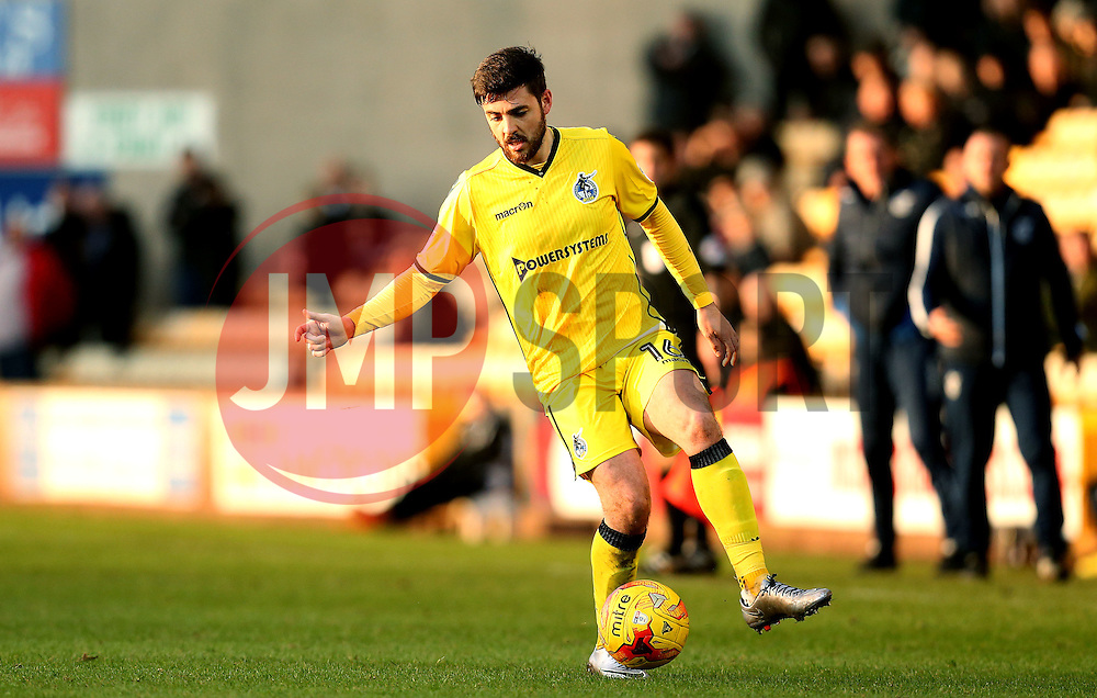 Robert Harris of Bristol Rovers - Mandatory by-line: Robbie Stephenson/JMP - 18/02/2017 - FOOTBALL - Vale Park - Stoke-on-Trent, England - Port Vale v Bristol Rovers - Sky Bet League One