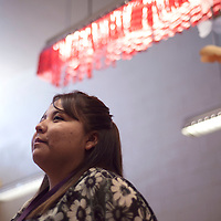 """Ramara Begay teaches third grade at Canyon de Chelly Elementary School in Chinle and lead her students to achieve the """"Read to Succeed"""" national award."""