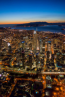 Salesforce Tower & Downtown San Francisco, Sunset