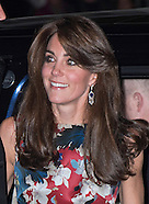 KATE Middleton Attends Women In Hedge Fund Gala