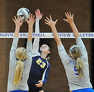 Olmsted Falls battled Midview in a Division I sectional final at Midview High School on October 20, 2011.