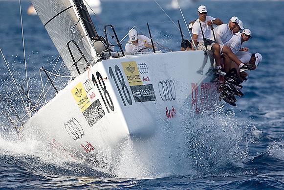 08_013505  © Sander van der Borch. Porto Portals, Mallorca,  July 24th 2008. AUDI MEDCUP in Porto Portals  (21/26 July 2008). Coastal race.