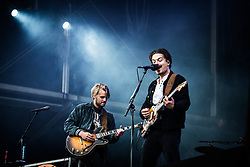 June 17, 2018 - Landgraaf, Limburg, Netherlands - Milky Chance performing live at Pinkpop Festival 2018 in Landgraaf Netherlands  (Credit Image: © Roberto Finizio/NurPhoto via ZUMA Press)