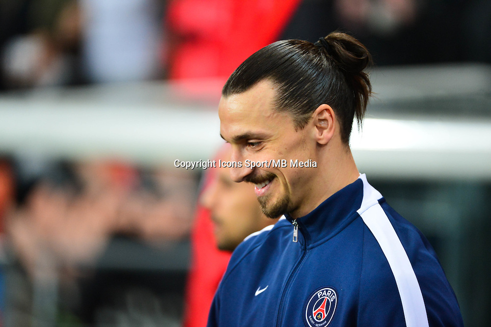 Zlatan IBRAHIMOVIC - 20.03.2015 - Paris Saint Germain / Lorient - 30e journee Ligue 1<br />