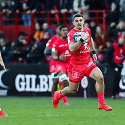 Thomas RAMOS of Toulouse during the European Rugby Champions Cup, Pool 5 match between Toulouse and Gloucester on January 19, 2020 in Toulouse, France. (Photo by Manuel Blondeau/Icon Sport) - Stade Ernest-Wallon - Toulouse (France)