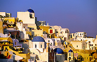 Oia, island of Santorini, the Cyclades, Greece