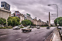 Avenida 9 de Julio & El Obelisco