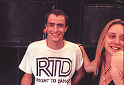 Smiley Raver, 2nd Criminal Justice March, Victoria, London, UK, 23rd of July 1994.