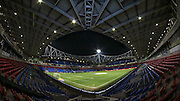 General view of Macron Stadium before kick-off during the Sky Bet Championship match between Bolton Wanderers and Brentford at the Macron Stadium, Bolton, England on 30 November 2015. Photo by Mark P Doherty.